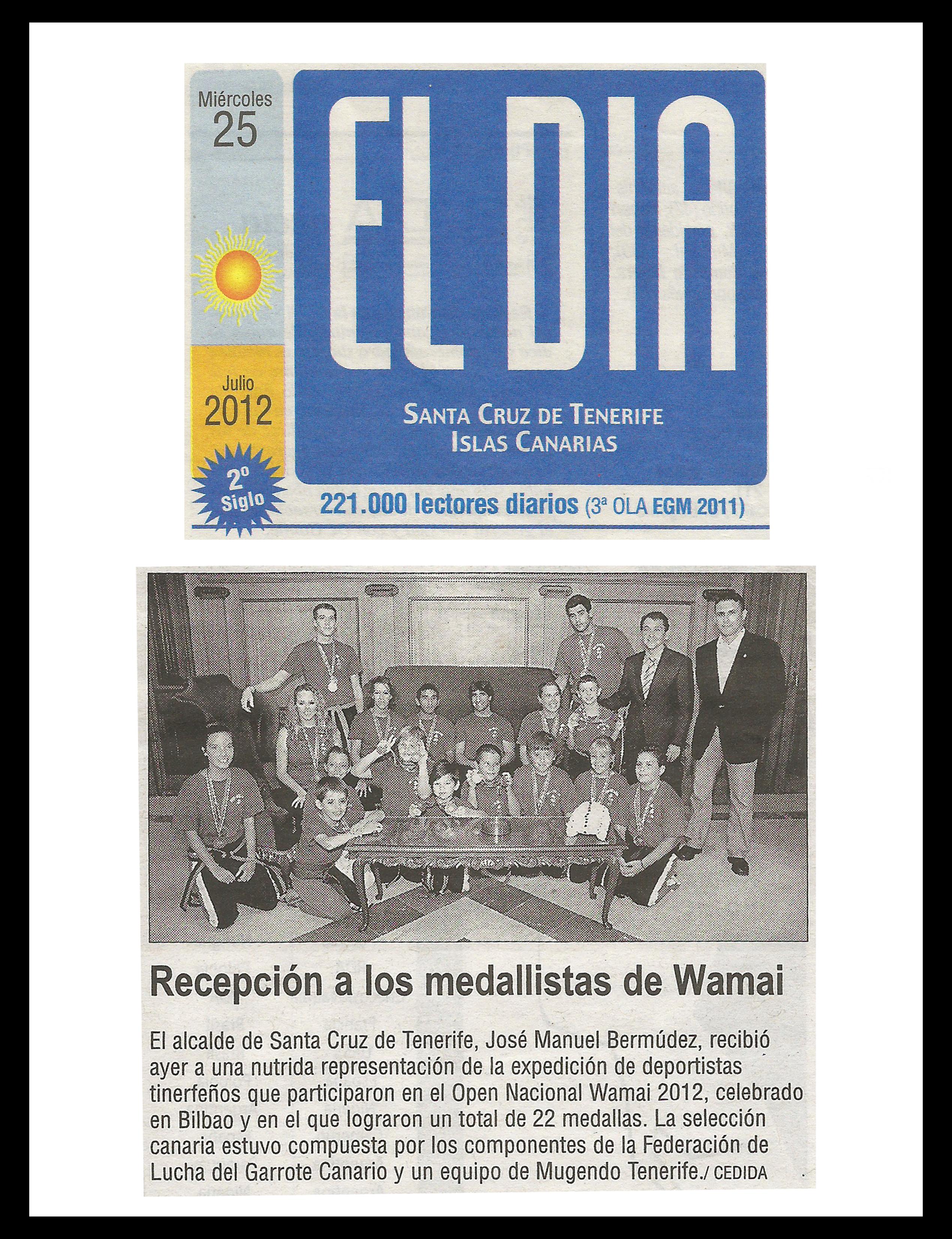 Recepción De Los Medaillistas De Wamai