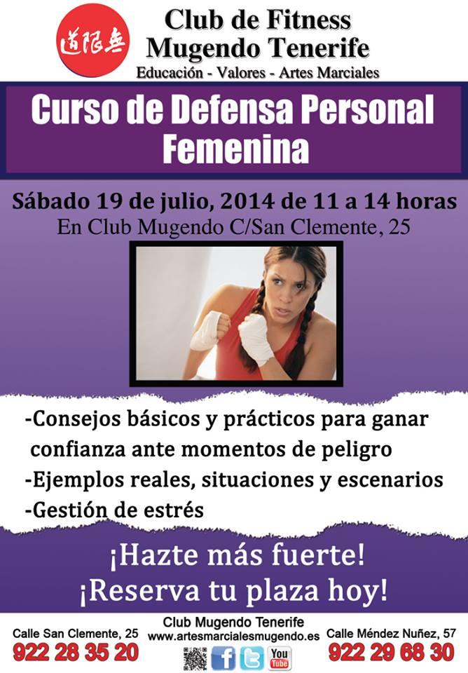 Curso de defensa personal femenina Mugendo