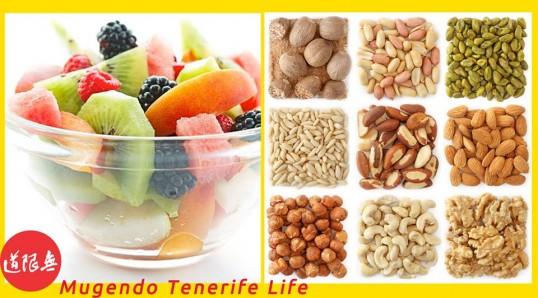 Mugendo Tenerife Life Alimentacion hierro nutriente esencial frutos secos
