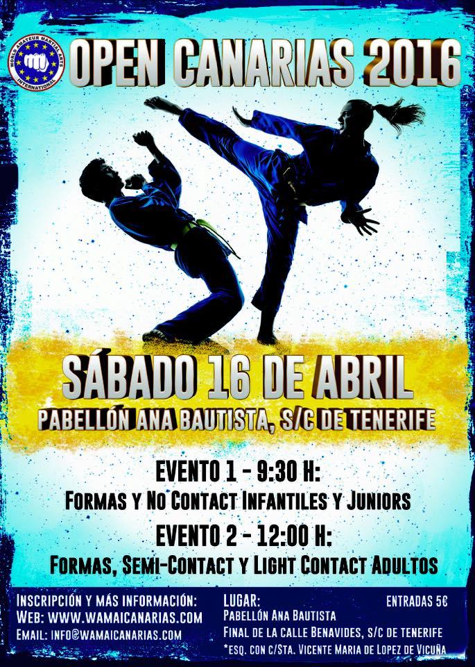 Open Canarias 16 abril 2016
