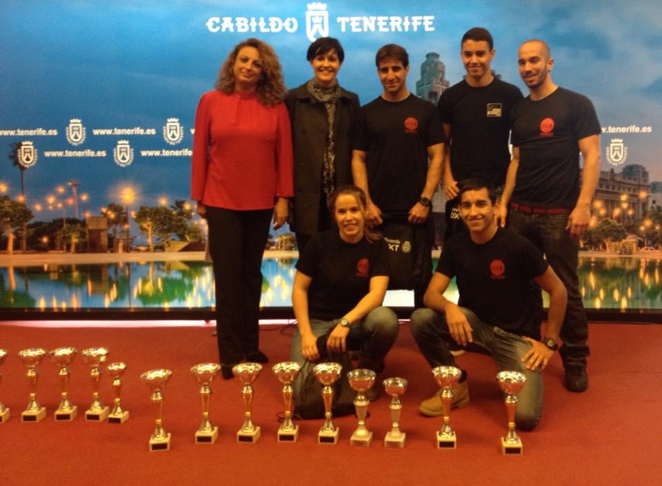 equipo Mugendo en el Cabildo de Tenerife 3