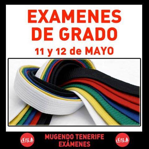 examenes grado 11 y 12 mayo