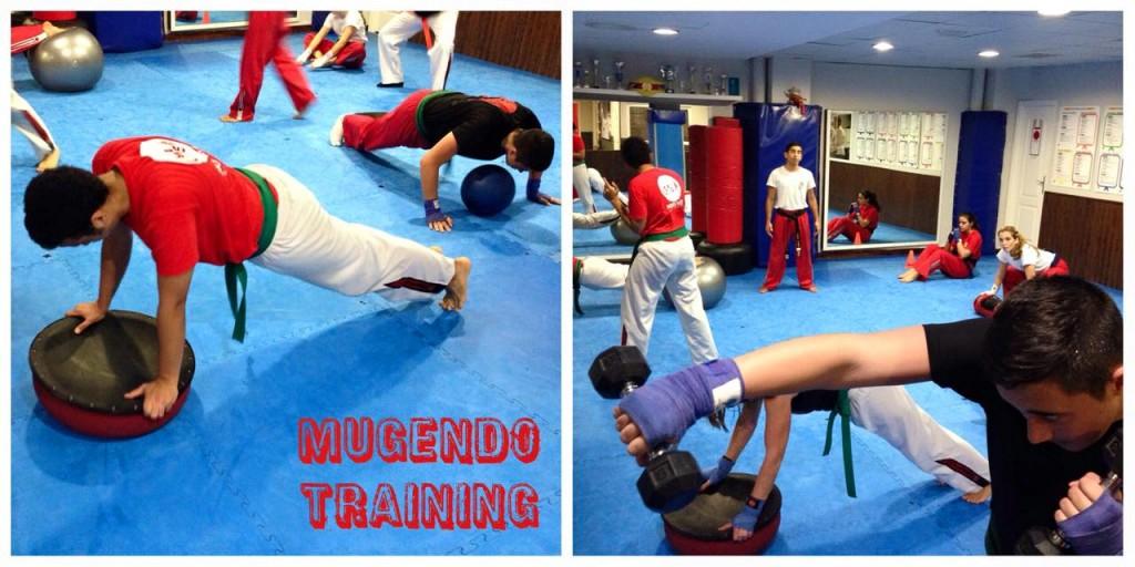 mugendo training quemando